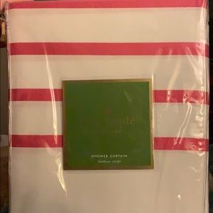 New in Package Kate Spade Pink Shower Curtain